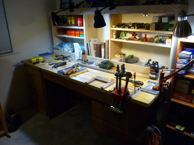 My New Reloading Bench