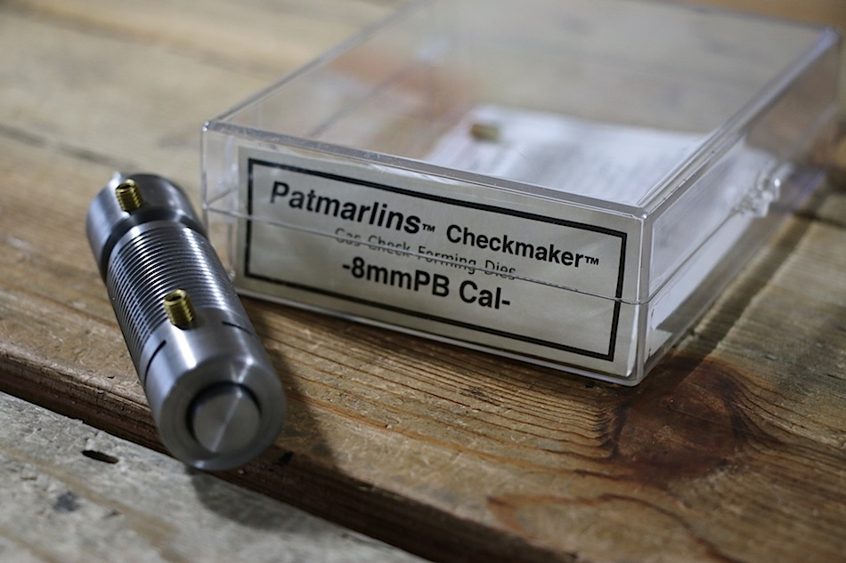 8mmPBCheckmakerDies