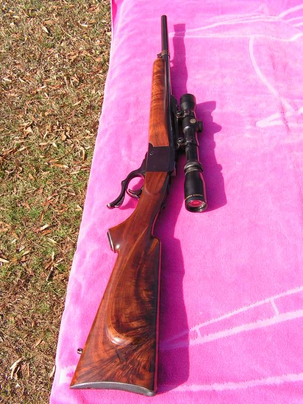 Ruger No 1 Dream Rifle in 358 Winchester and Checkmaker™ Gas